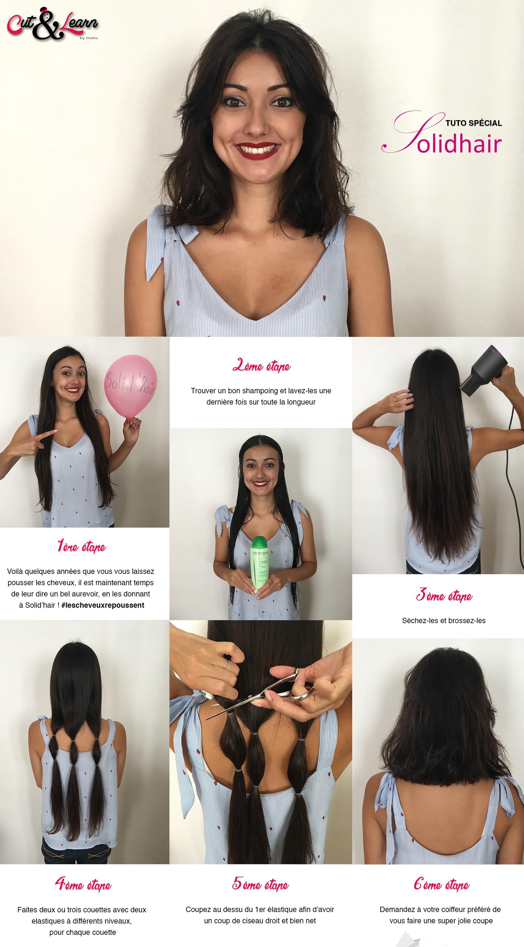 Liste de prix des femmes pour la coupe de cheveux